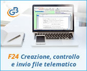 F24 2019: creazione, controllo e invio file telematico