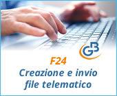 Caso pratico: creazione e invio File Telematico da F24
