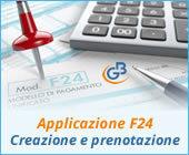 Applicazione F24 2019: creazione e prenotazione del modello