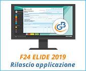 F24 ELIDE 2019: rilascio applicazione