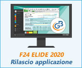 F24 ELIDE 2020: rilascio applicazione