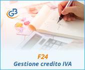 F24: gestione del credito IVA 2018