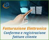 Fatturazione Elettronica: conferma e registrazione fatture cliente