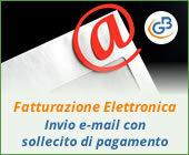 Fatturazione Elettronica: invio e-mail con sollecito di pagamento