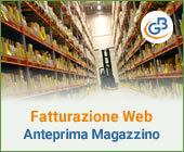 Fatturazione Web: anteprima gestione Magazzino