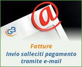 Fatture 2019: invio solleciti di pagamento tramite e-mail