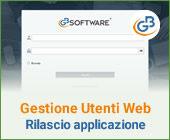 Gestione Utenti Web: rilascio applicazione