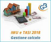 IMU e TASI 2018: gestione calcolo