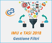 IMU e TASI 2018: gestione Filtri