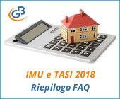 IMU e TASI 2018: principali FAQ