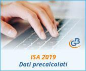 ISA 2019: gestione dei dati precalcolati