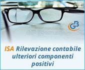 ISA 2019: rilevazione contabile Ulteriori componenti positivi
