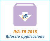 Modello IVA-TR 2018: rilascio applicazione