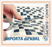 Importazioni saldi e testi XBRL