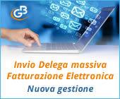 Invio Delega massiva Fatturazione Elettronica: nuova gestione