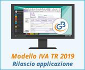 Modello IVA TR 2019: rilascio applicazione