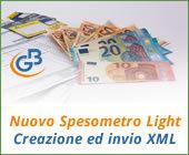 Nuovo Spesometro light 2017: creazione file xml e invio