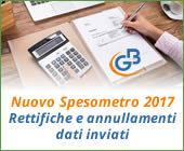 Nuovo Spesometro 2017: rettifiche e annullamenti dati inviati