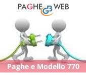 Paghe GB Web e Modello 770/2017