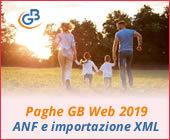 Paghe 2019: gestione ANF e importazione file XML