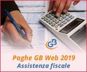 Paghe GB Web 2019: Assistenza fiscale 2019