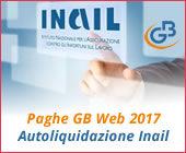 Autoliquidazione Inail Paghe GB Web