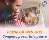 Paghe GB Web 2018: Congedo parentale obbligatorio del padre