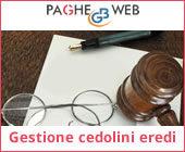 Paghe GB Web - Gestione cedolini Eredi
