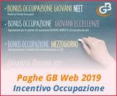 Paghe 2019: Incentivo Occupazione Garanzia Giovani