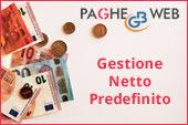 Paghe GB Web: Gestione Netto Predefinito
