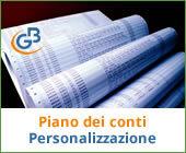 Piano dei conti: personalizzazione