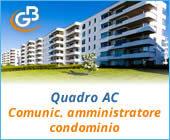Quadro AC 2018: Comunicazione dell'amministratore di condominio