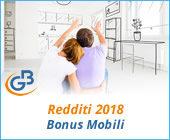 Redditi 2018: Bonus Mobili