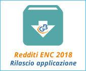Redditi ENC 2018: rilascio applicazione