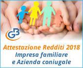 Attestazione Redditi 2018: Impresa familiare e Azienda coniugale