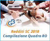Redditi Società di Capitali 2018: compilazione Quadro RO