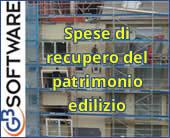 Agevolazione per interventi di recupero del patrimonio edilizio