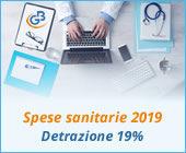 Spese sanitarie 2019: detrazione 19%