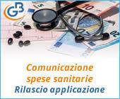Comunicazione spese sanitarie 2018: rilascio applicazione