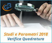 Studi e Parametri 2018: Verifica Quadratura
