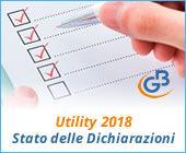 Utility 2018: Stato delle Dichiarazioni