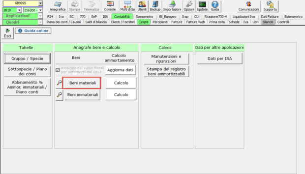 Acquisizione nuovo cliente e gestione dei cespiti: caso pratico - Beni materiali