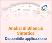 Analisi di Bilancio Sintetica: disponibile applicazione