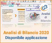 Analisi di Bilancio 2020: rilascio applicazione