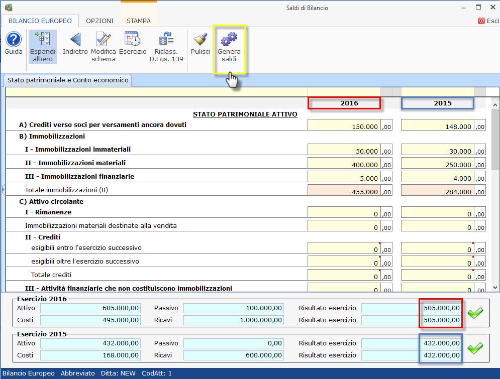 Caso pratico: Bilancio 2017 contabile e 2016 senza contabilità - 12