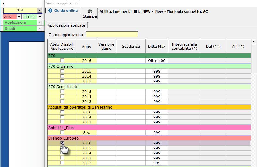 Caso pratico: Bilancio 2017 contabile e 2016 senza contabilità - 8