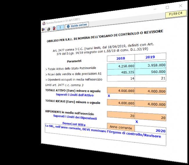 Bilancio: corretto flusso fino alla validazione XBRL - Verifica obbligo di revisione srl