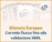Bilancio Europeo: corretto flusso fino alla validazione XBRL
