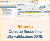 Bilancio: corretto flusso fino alla validazione XBRL