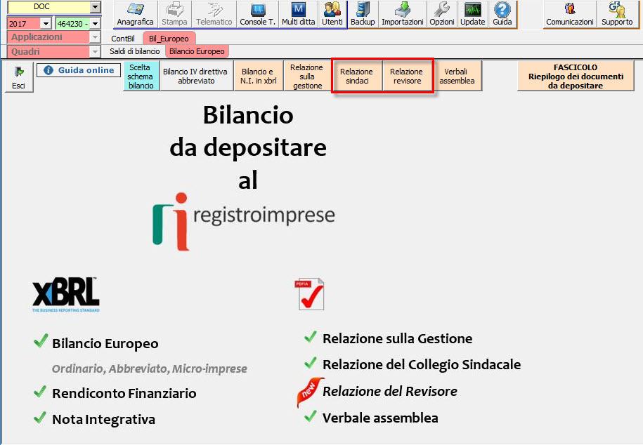 Bilancio Europeo 2018: novità Relazioni organi di controllo - 2